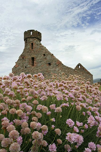 Ruins at Peel Castle, Isle of Man