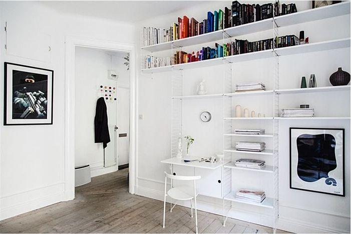 Office/Workspace: Craftroom Workspace, Living Rooms, String Shelf, Homes Offices, Feeling Inspiration, Offices Spaces, String Shelves, Work Spaces, Inspiration Blog