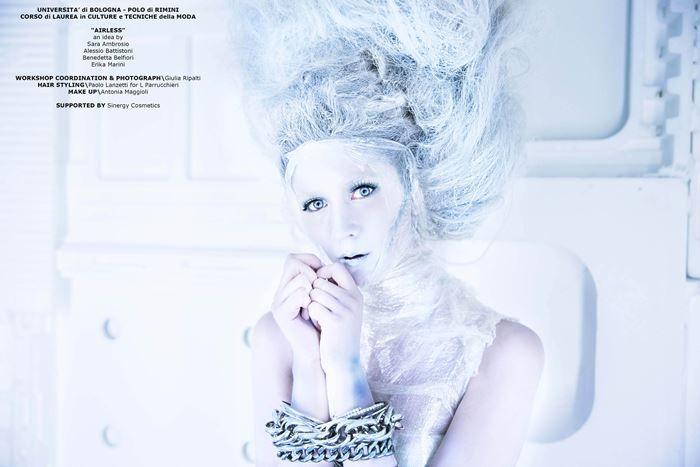 Effetti Visuali nella Fotografia di Moda a.a. 2014.15 | Coordinator: Giulia Ripalti | Hair Stylist: Paolo Lanzetti | Makeup Artist: Antonia Maggioli Con il contributo di SINERGY