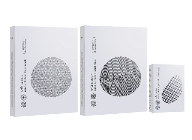 Cella Biofiber Nano-Cellulose Facial & Eye Mask on Packaging of the World - Creative Package Design Gallery