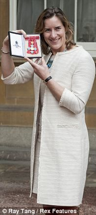 Katherine Grainger awarded a CBE for services to rowing wearing Long Tall Sally Boucle Longline Jacket