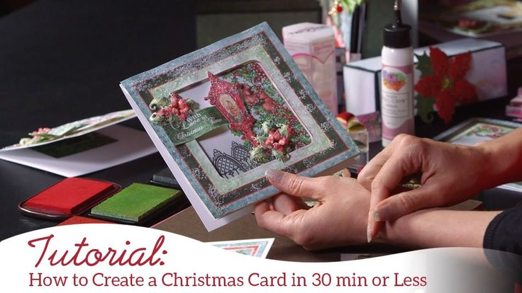 181 best Cards, Christmas Card Tutorials images on Pinterest
