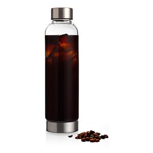 Cold Brew Coffee Infusion Bottle   Makes Cold Brewed Coffee Overnight. Just Pour Coffee in Filter and Next Morning You'll Have Cold Brew Coffee