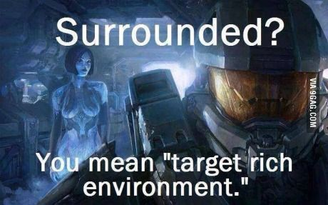This is how badass Masterchief is...