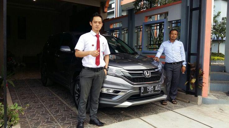 Thx H.ika Enjoy with Honda CRV 2.4 Prestige sukses selalu info honda 081394410789 www.hondabdg517.com