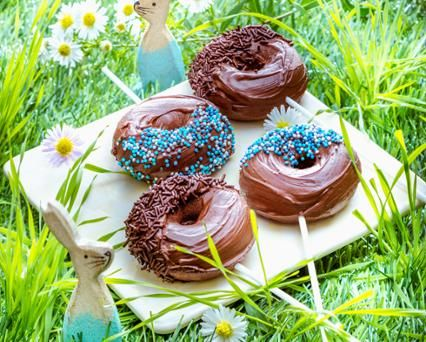 Choconuts, des donuts chocoholic Recette -