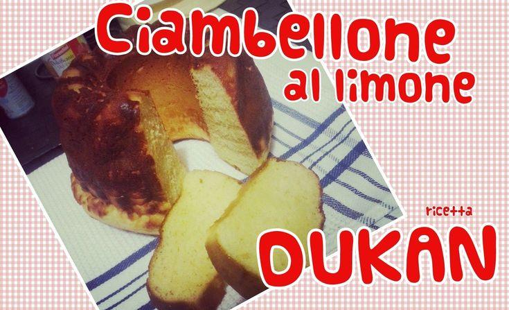Ciambellone al limone - Ricetta Dieta Dukan