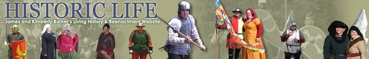 Historic Life: dedicated to the study of European culture and martial arts from the Roman era to the Renaissance, Living History groups as well the SCA