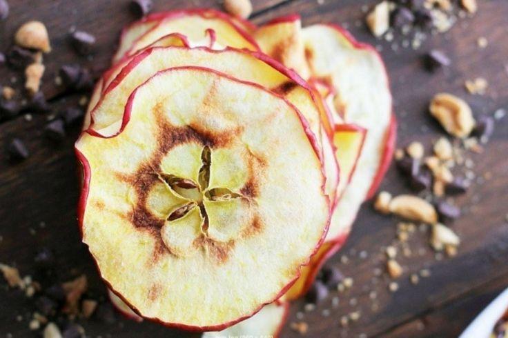 Chips de pommes au micro-ondes...Un truc facile !
