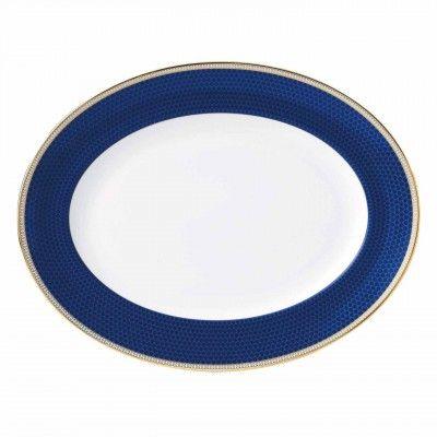 Hibiscus Oval Dish 35cm