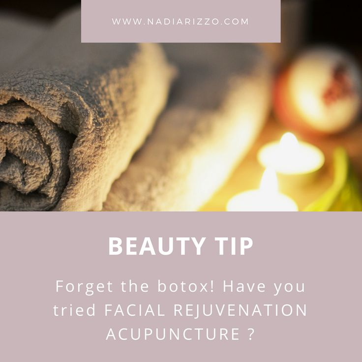 Beauty Tip: Forget the botox! Have you tried Facial Rejuvenation Acupuncture? #beautytips #beauty #tips