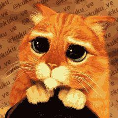 shrek cat eyes gif - Google Search