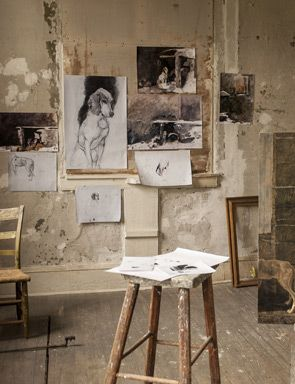 Andrew Wyeth Studio http://www.amazon.com/The-Reverse-Commute-ebook/dp/B009V544VQ/ref=tmm_kin_title_0