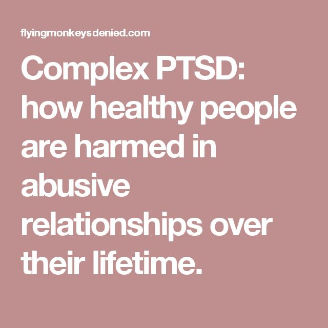 complex ptsd dating