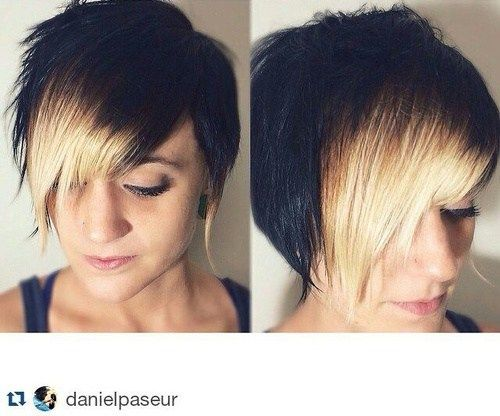 1000+ Ideas About Angled Haircut On Pinterest