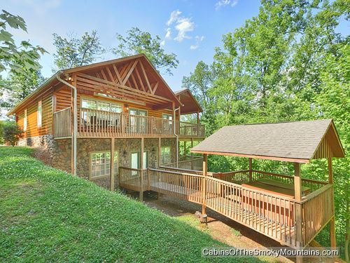 1000 images about 3 bedroom cabins in gatlinburg on for Smoky mountain ridge cabins