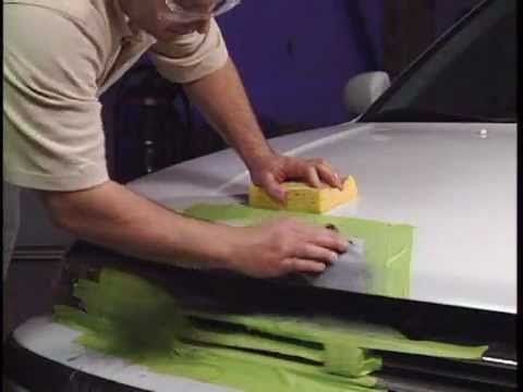 How to do repair auto body rust with bondo