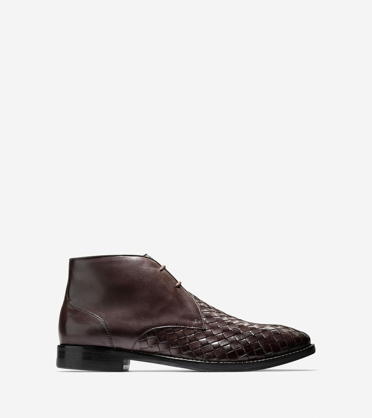 Cambridge Woven Chukka, Chestnut, by Cole Haan
