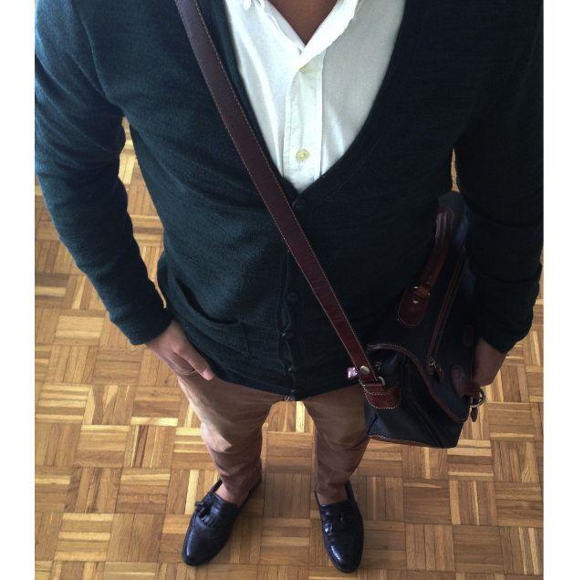 Qué me pongo hoy: Look de inspiración preppy | Rayas y Cuadros: Blog de Moda Masculina