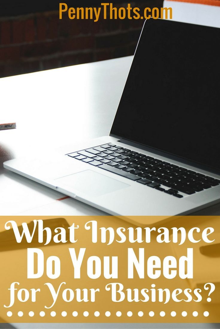 Looking to start your business off on the right foot? Here's everything you need for starting your own business - at least for insurance purposes! :) pennythots.com/...