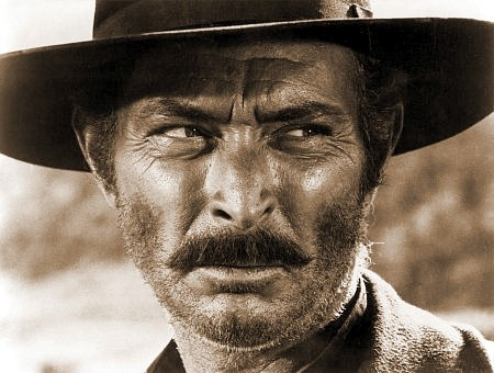 Lee Van Cleef. He was given a few starring roles, but let's face it, that a character actors nose. ;  )