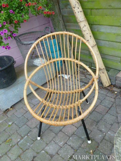 Marktplaats.nl > Vintage Rohe noordwolde stoeltje, rotan, jaren 70. - Huis en Inrichting - Stoelen