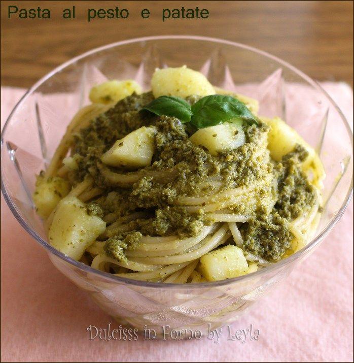 Pasta al pesto e patate, ricetta sfiziosa