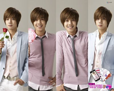Boys Over Flowers Spain - Gallery: Anycall Photoshoot (Kim Bum, Kim Hyun Joong, Kim Joon)