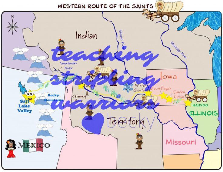 LDS PRimary Lesson Helps  Lesson 39: The Saints Build Winter Quarters