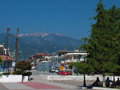 Olympus. View from a town