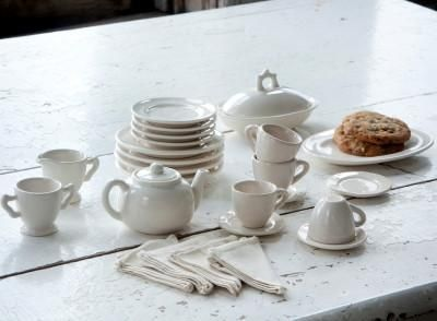 Shabby Chic Mini Tea Set #modernshabbychickitchen
