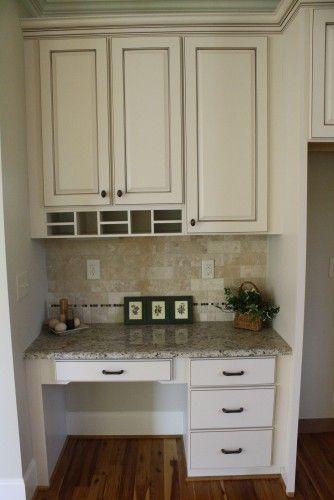 Kitchen Cabinets Ideas kitchen desk cabinets : 17 Best ideas about Kitchen Desk Areas on Pinterest | Kitchen ...