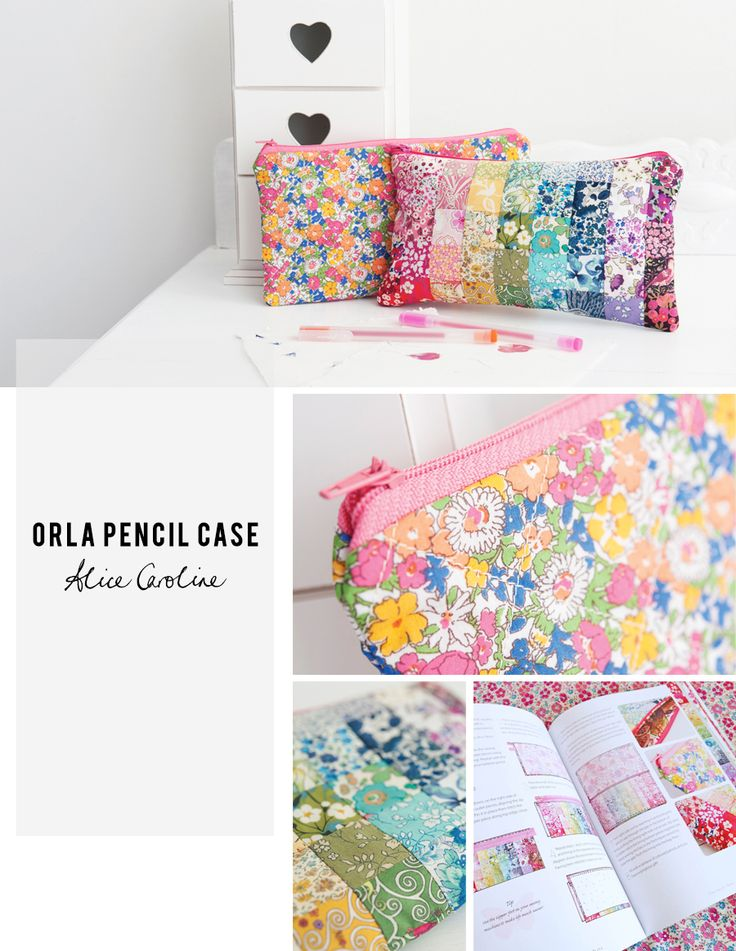 Orla Pencil Case - one of my favourite projects from Little Lady Liberty #Liberty