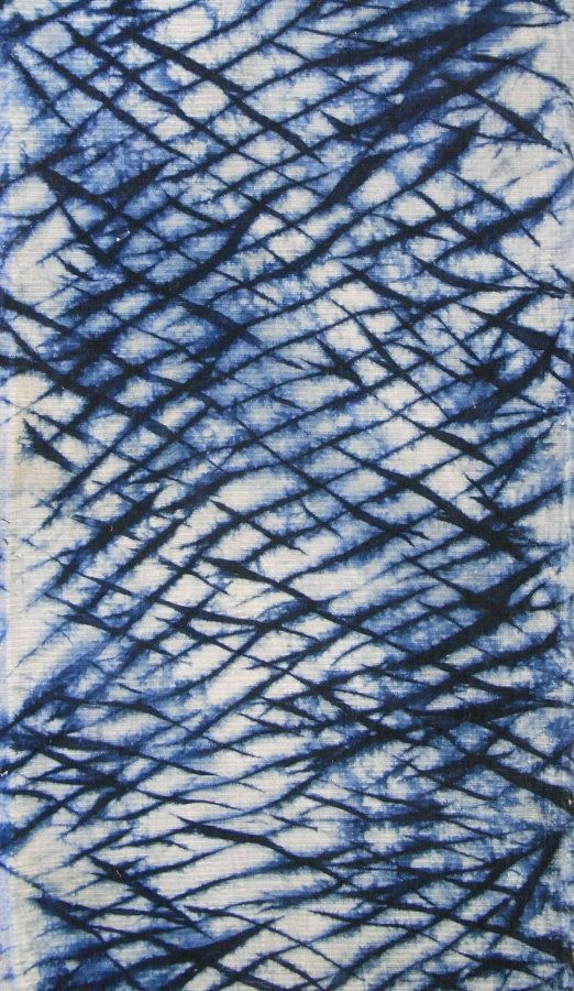 Arashi Shibori--so beautiful for a bedspread or curtains. And very easy to learn!