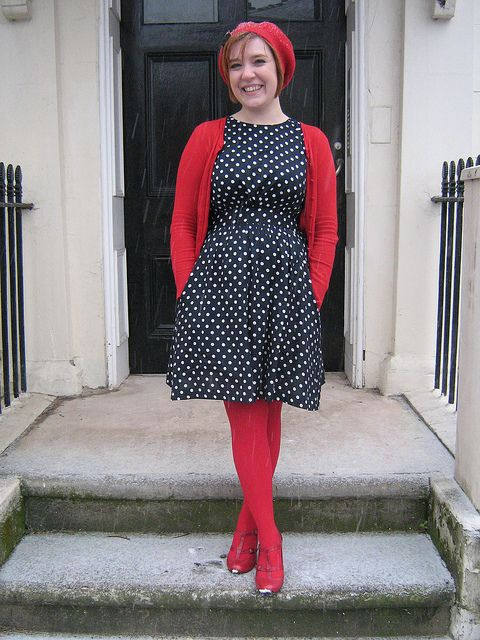 41 Best Red Tights Images On Pinterest Patterned Tights