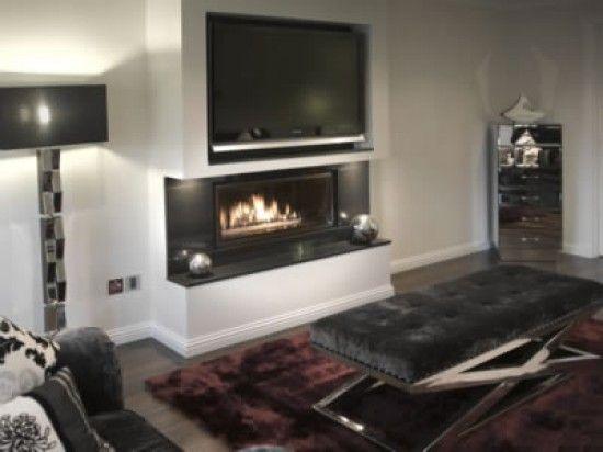 fireplace tv wall design 8 home design Pinterest Fireplace