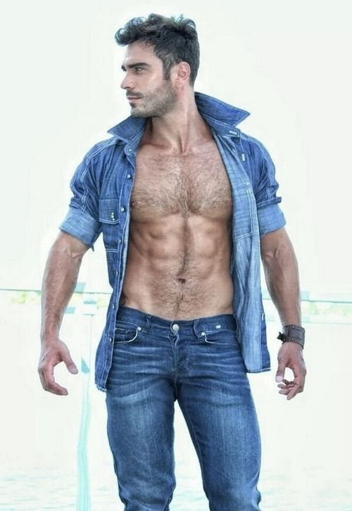 Pin by Beverly Johns on uhmmmm | Hairy men, Sexy men, Hot guys