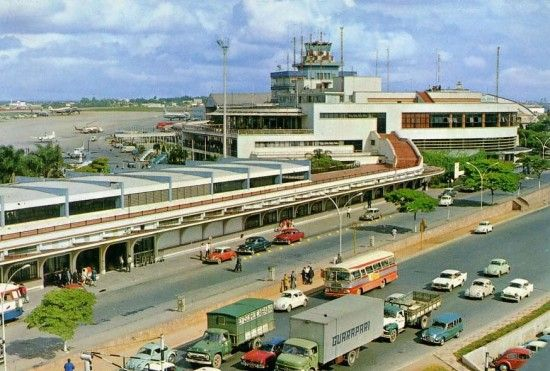 Aeroporto de Congonhas nos anos 60