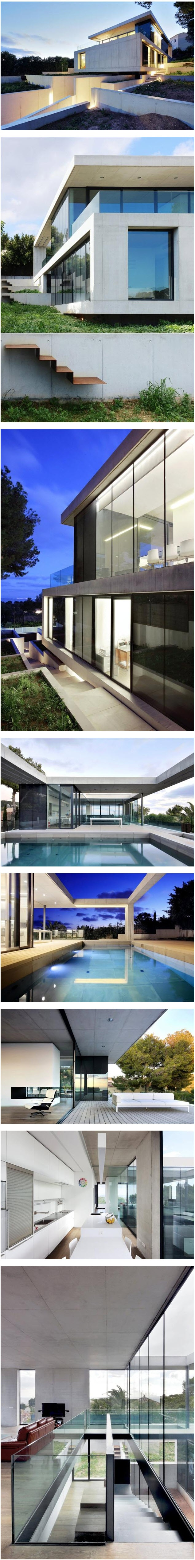 d56ff74efafe1fc2f38cace111ab4831--concrete-houses-mallorca Unique De Couvercle Aquarium Conception