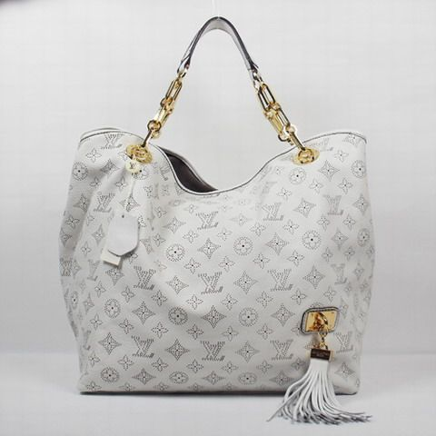 Cream Louis Vuitton Bag