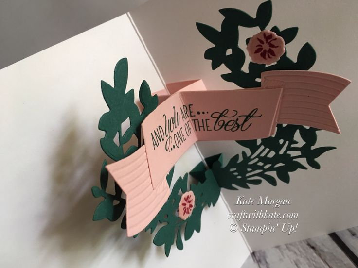 Good friends are hard to find 3D pop up card using Stampin Ups Lovely friends Bundle by Craft with Kate, Independent Demonstrator Australia