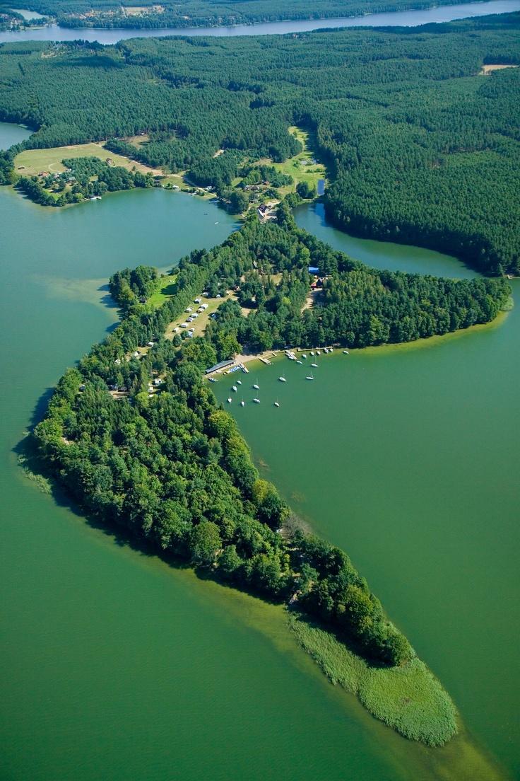Półwysep Lipa / Peninsula of Lipa #lake #landscape #peninsula