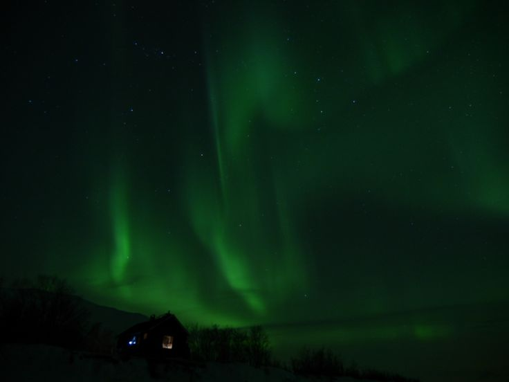 L'Aurora Boreale - The Northern Lights (Riccardo Tebano, Abisko)