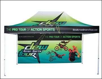 Our Custom Printed 10 x 10 full colour canopy tent with roof and back wall printed & 58 best Custom Canopy Tents images on Pinterest | Custom canopy ...