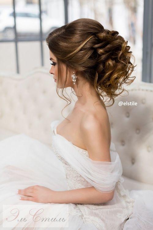 В нашем фото каталоге причесок на свадьбу Вы можете увидеть, как много вариантов такой прически может быть - с элементами плетения, косами, элегантные прически, объемные и не очень.