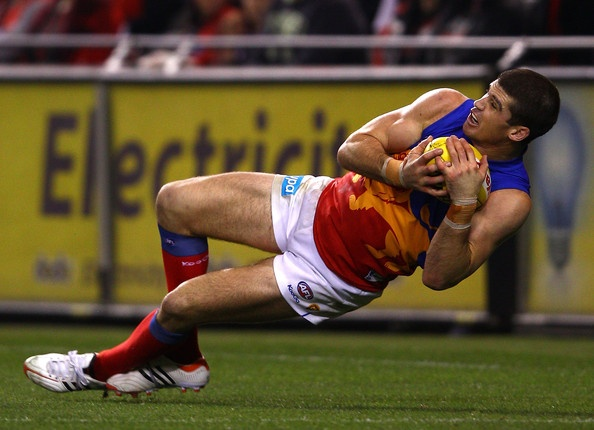 Jonathan Brown from the Brisbane Lions  http://footyboys.com