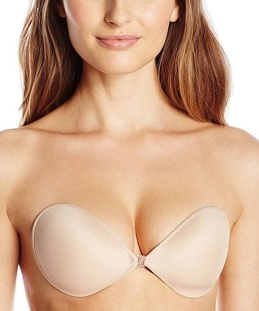 Loving this Nude Ultra-Light Wireless Adhesive Air Bra - Plus Too on #zulily! #zulilyfinds