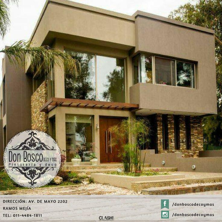 Casas Mansiones Rosario Conteras: Mejores 86 Imágenes De Revestimiento Simil Piedra En