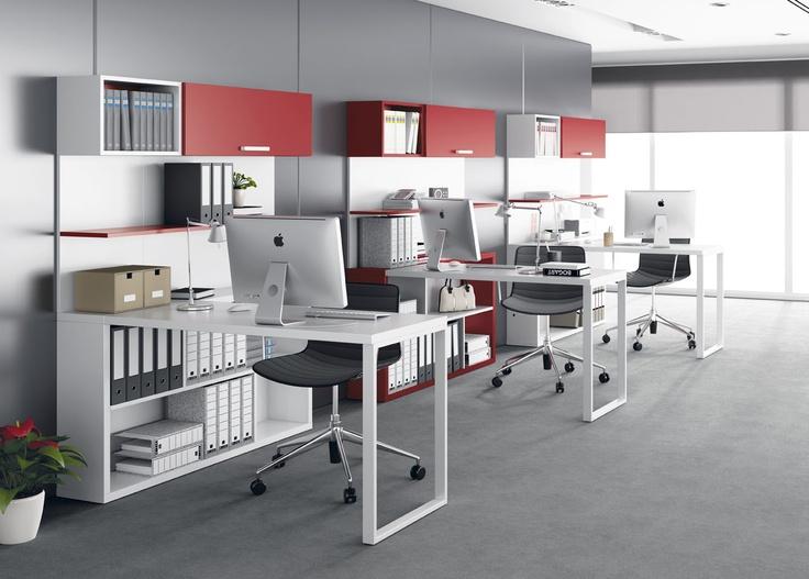 Las 25 mejores ideas sobre oficinas modernas en pinterest for Espacios para oficinas