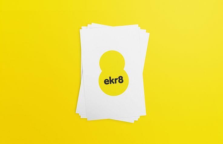 ekr8 - Business cards | by Skinn Branding Agency